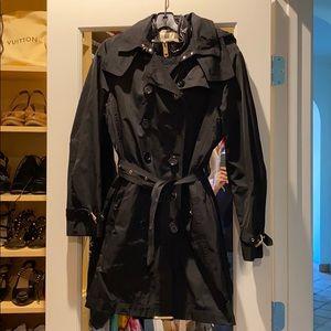 Burberry London raincoat and detachable vest EUC
